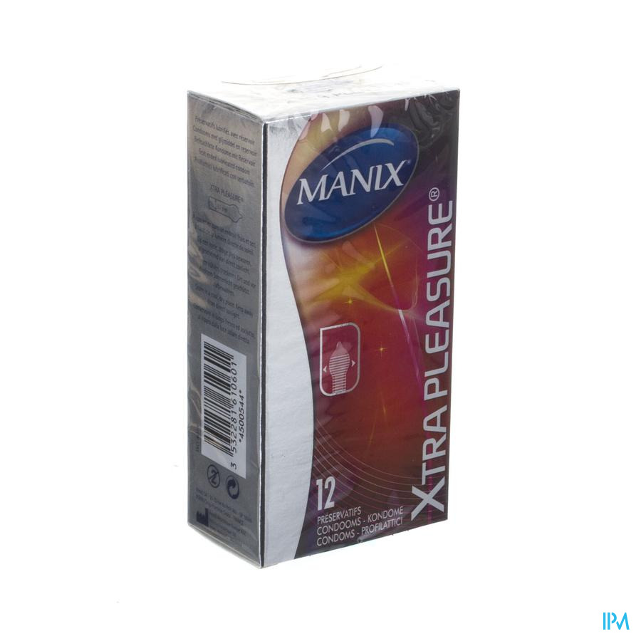 Manix Xtra Pleasure Condomen 12