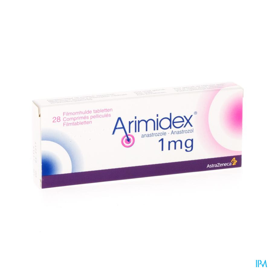 Arimidex 1mg Comp Pell 28