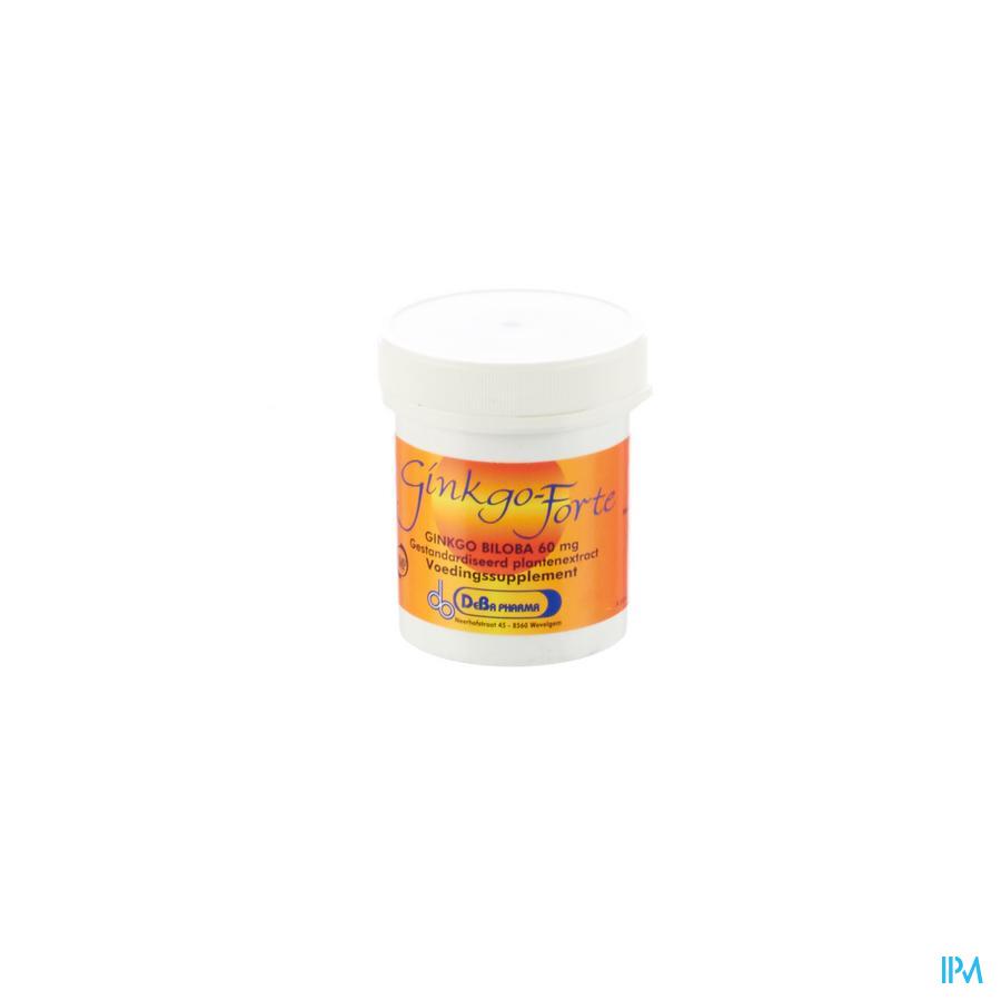 Ginkgo Forte Caps 120x60mg Deba