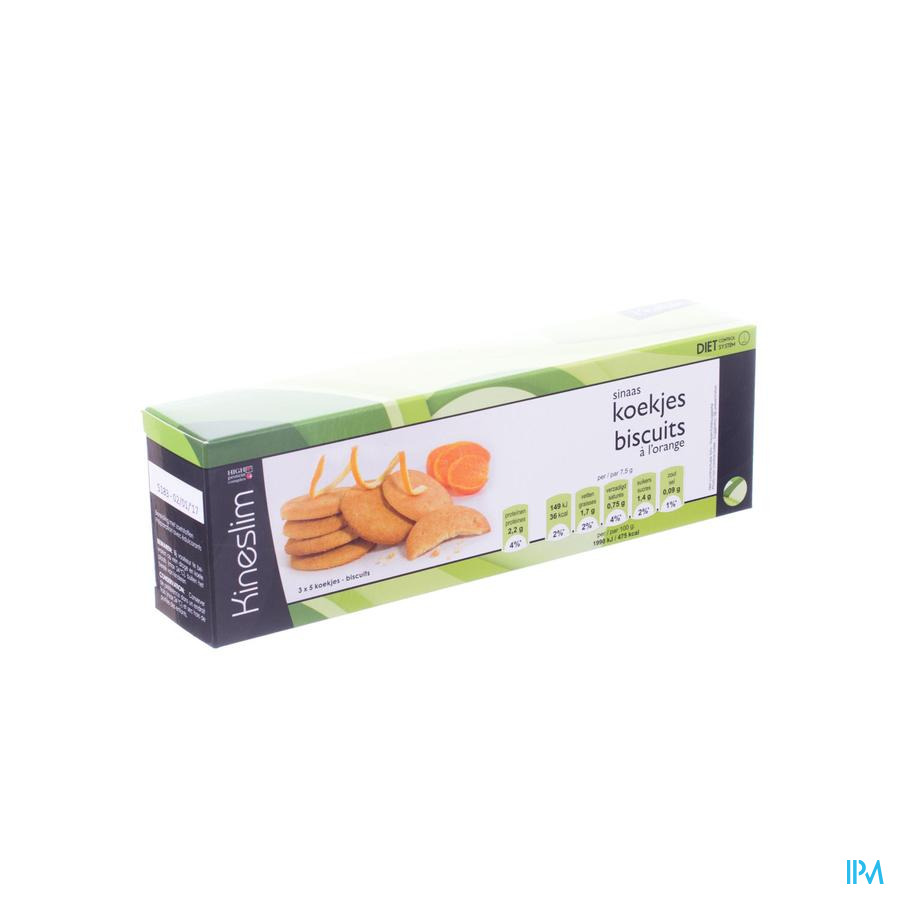 Kineslim Biscuits Orange 3x5