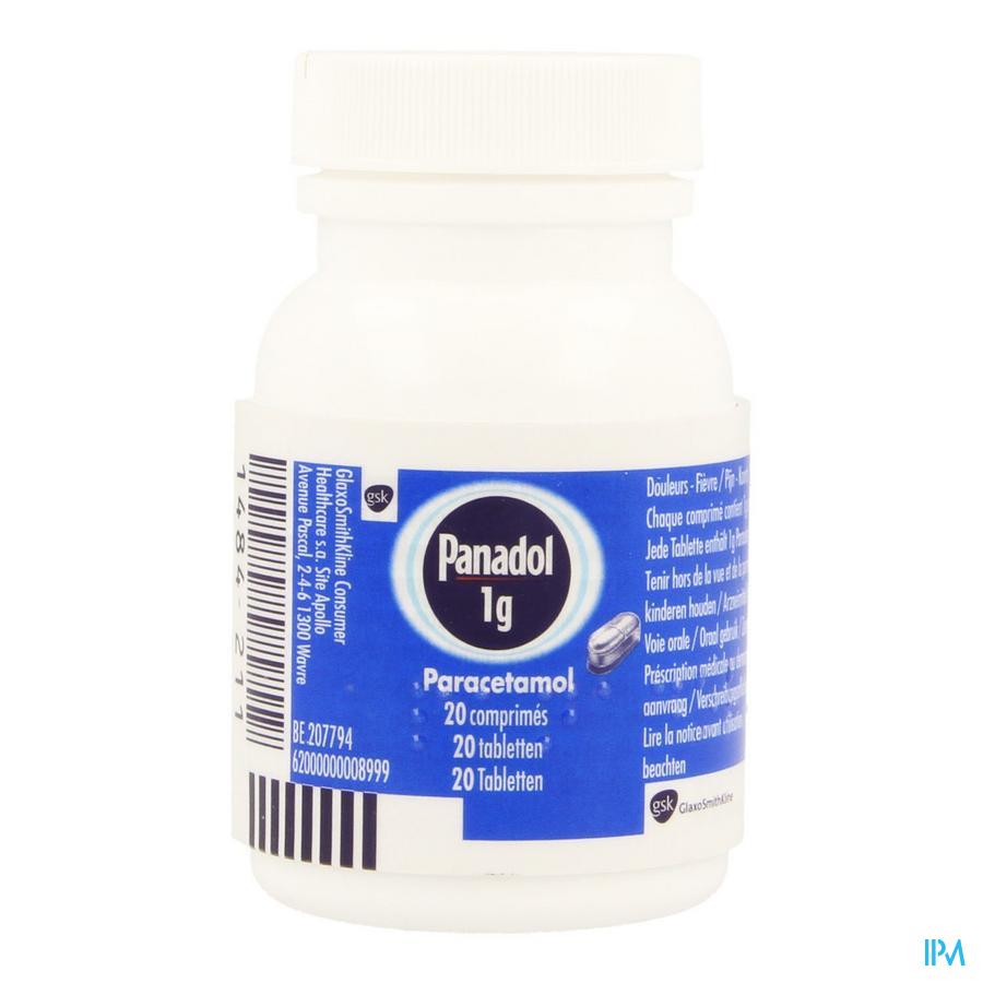 Panadol Tabletten 20x1 gr