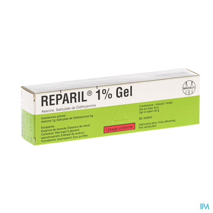 Reparil Gel 1% 40 gr