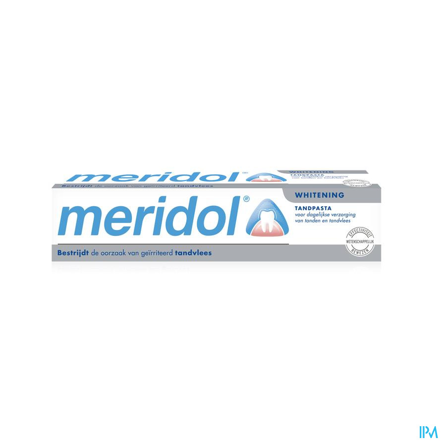 MERIDOL® TANDVLEES WHITENING TANDPASTA TUBE 75ML