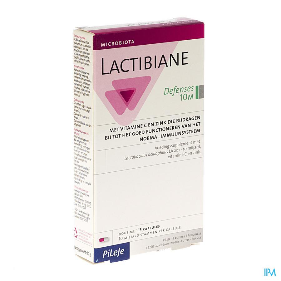 Lactibiane Defense Caps 15