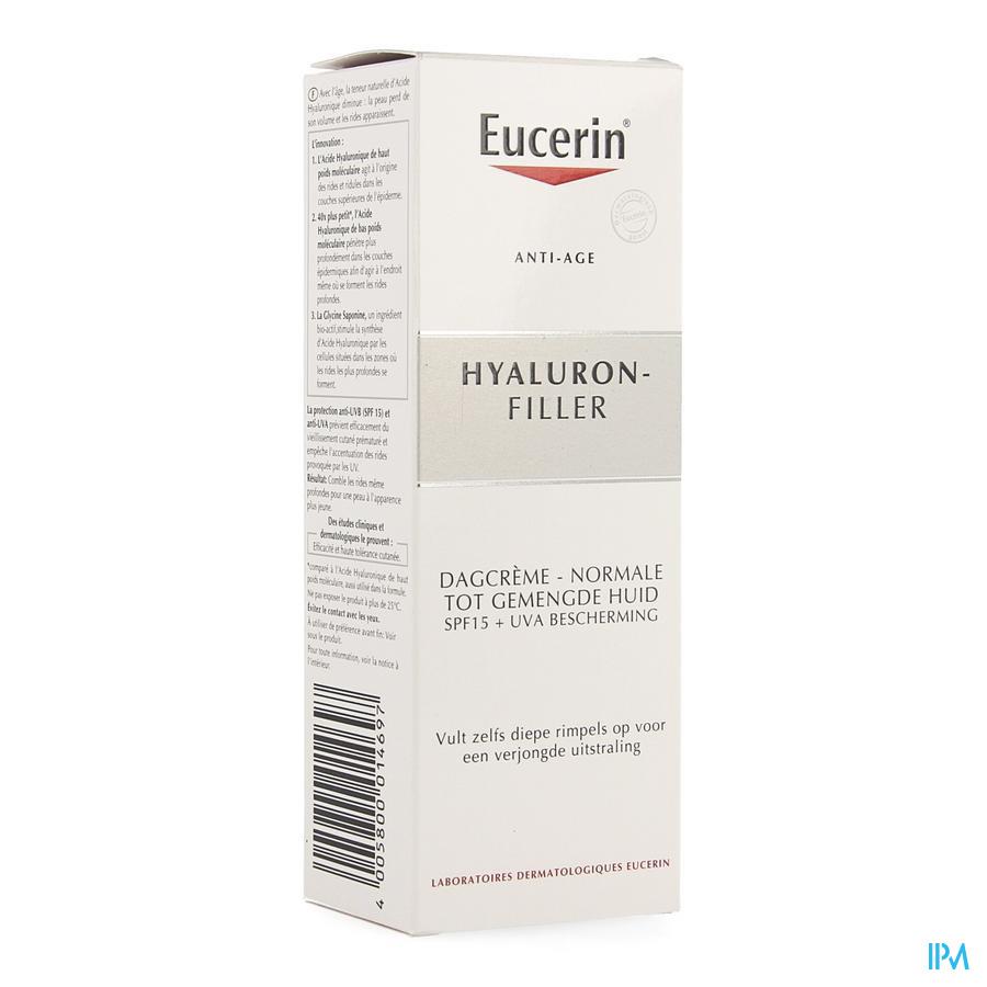 Eucerin Hyaluron Filler Dagcreme Nh-gem H 50 ml