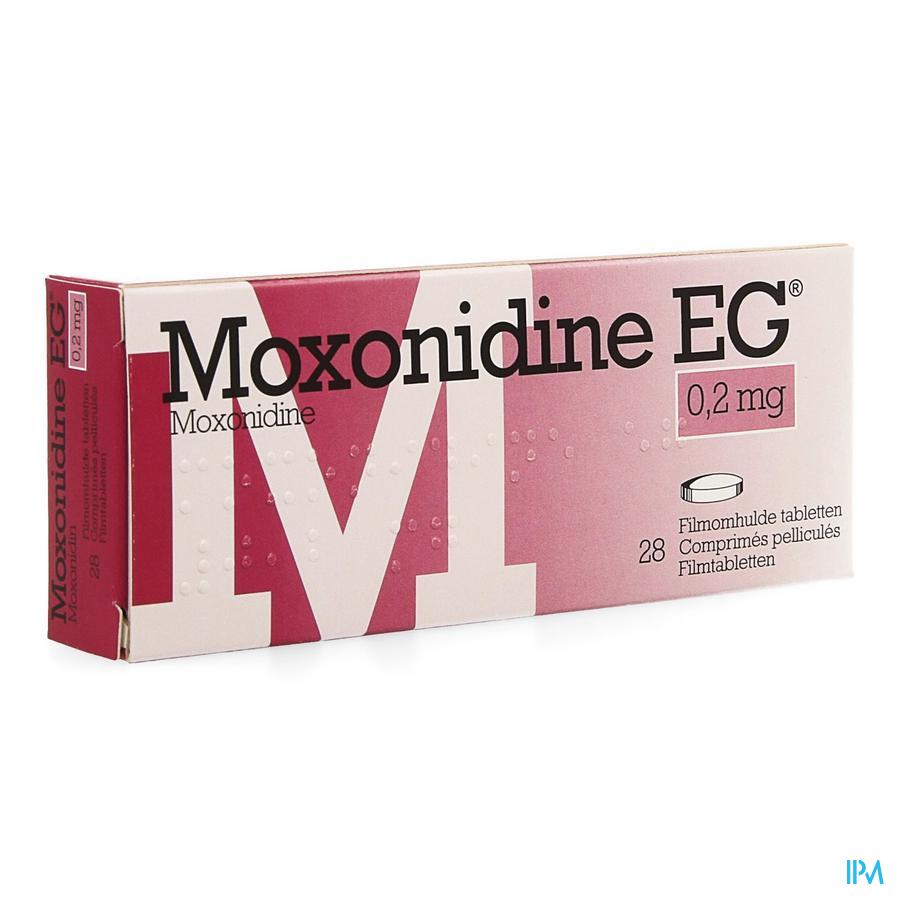 Moxonidine Eg Comp. 28 X 0,2mg