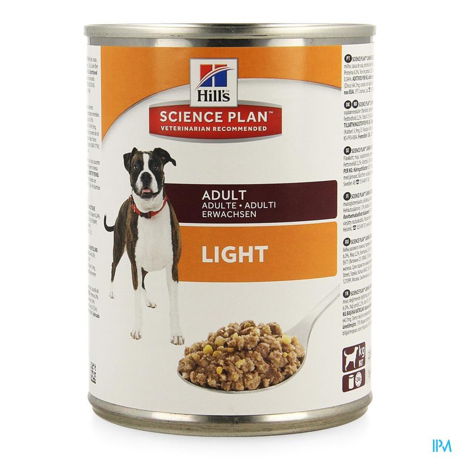 Hills Sc.plan Canine Light Ad Chicken 370g 8048u