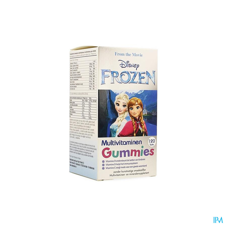 Disney Multivitaminen Frozen Gummies 120