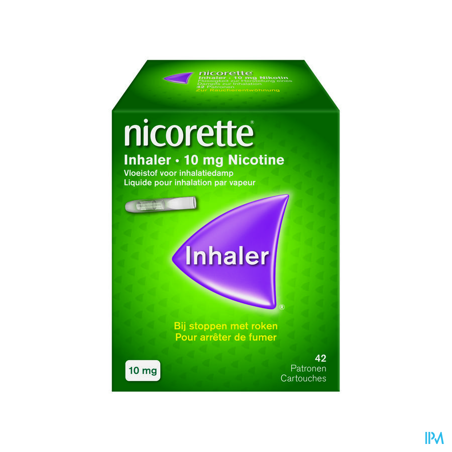 Nicorette Inhaler 10 mg 42 + Embout