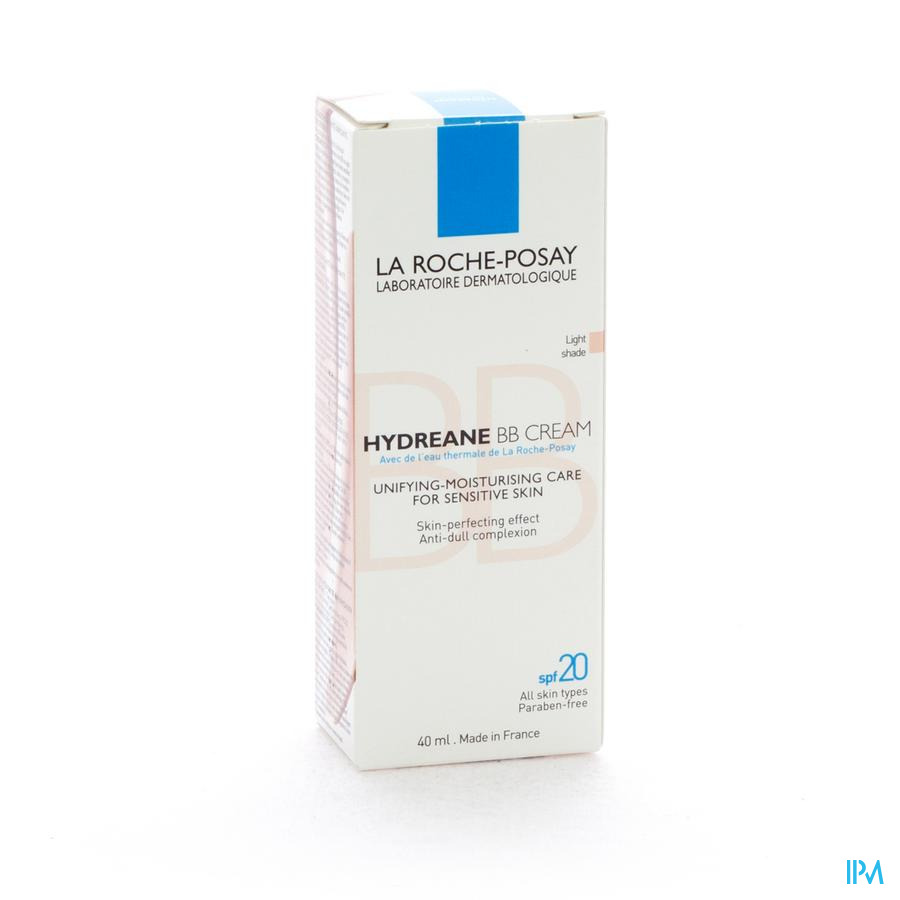 La Roche Posay Hydreane Bb Cream Light Shade Rose 40ml