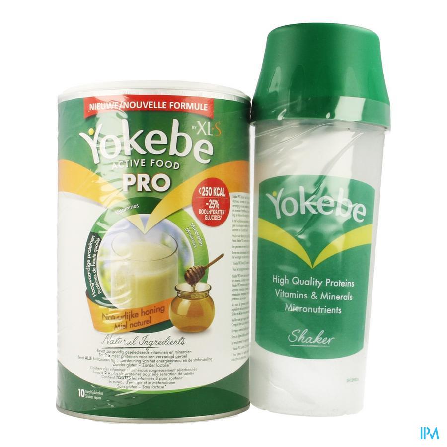 Afbeelding Yokebe Active Food Pro Pot 400 g met Shaker .