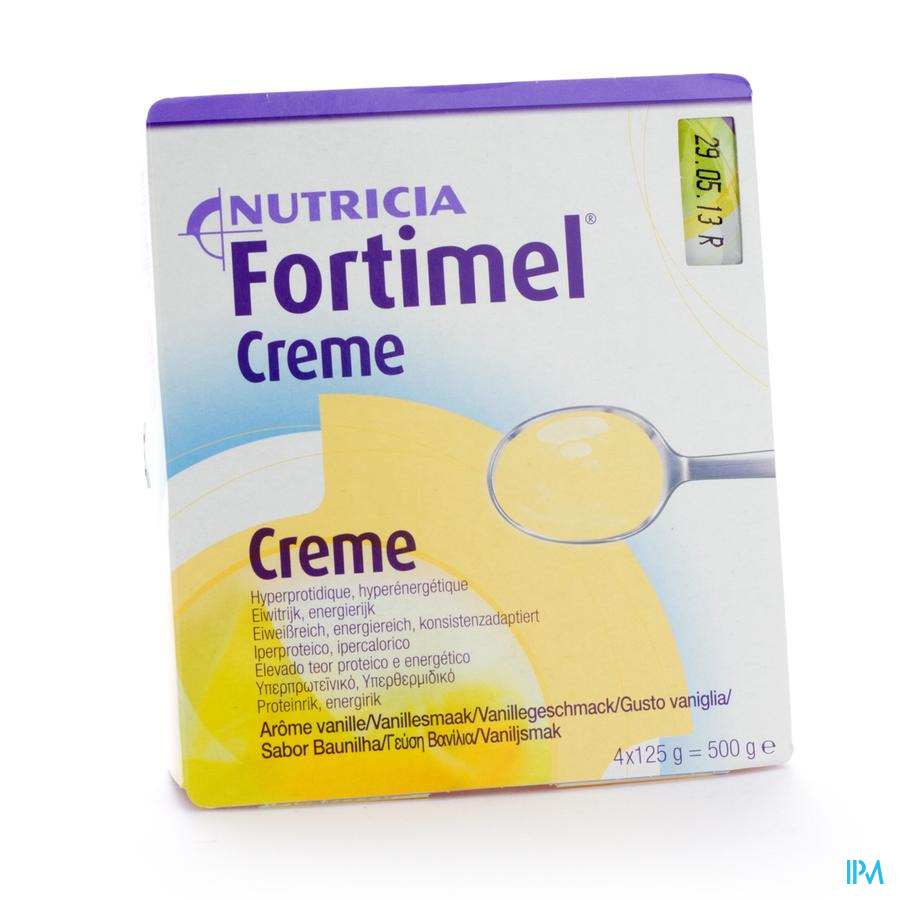 Fortimel Creme Vanille 4x125 gr