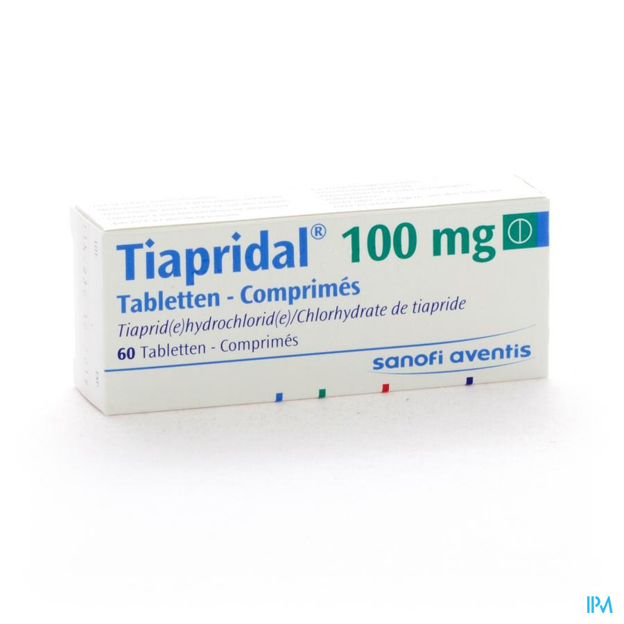 Tiapridal Comp 60 X 100mg