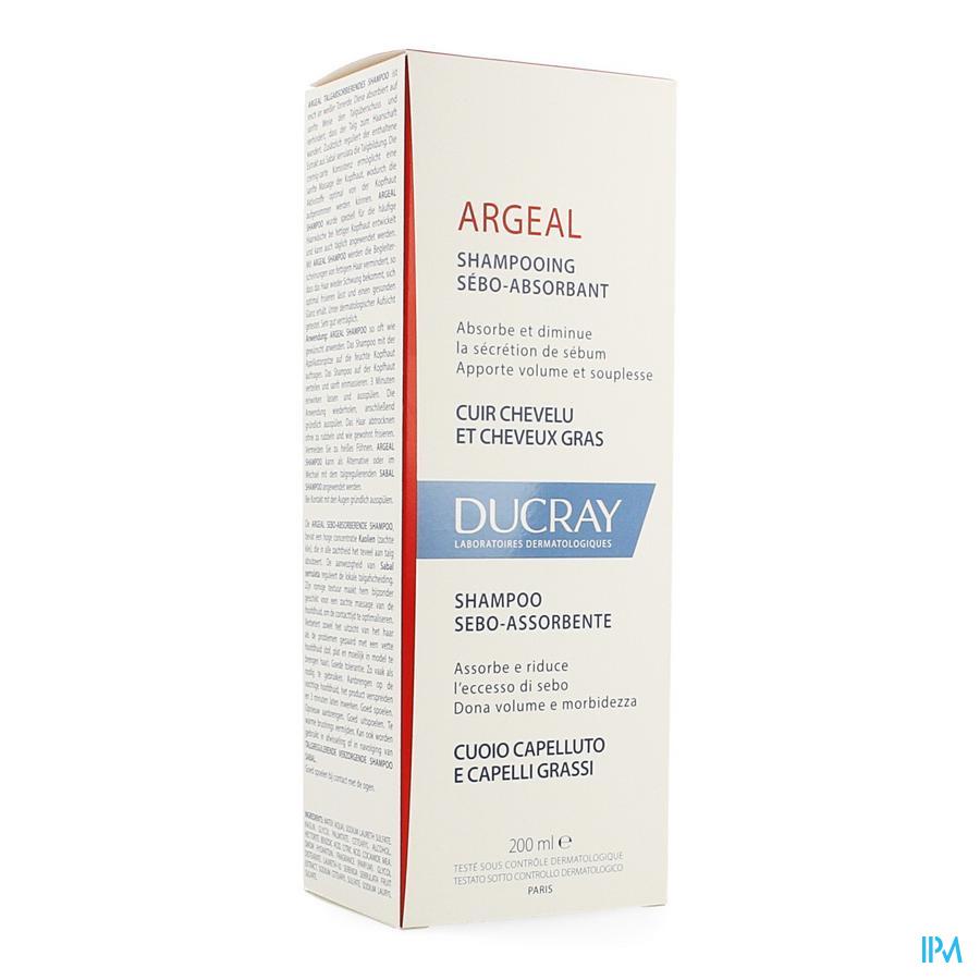Ducray Argeal Sh Traitant Sebo Absorbant 200ml