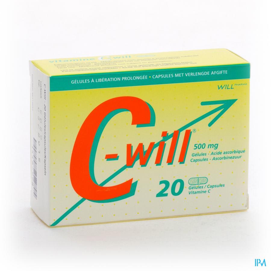 C Will Capsule. 20