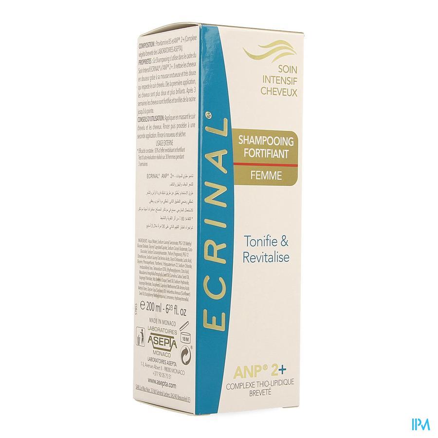 Ecrinal Verstevigende Shampoo Vrouw Anp2+ Fl 200ml