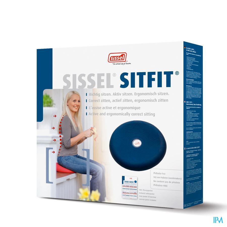 Sissel Sitfit Balanskussen Diam.33cm Blauw