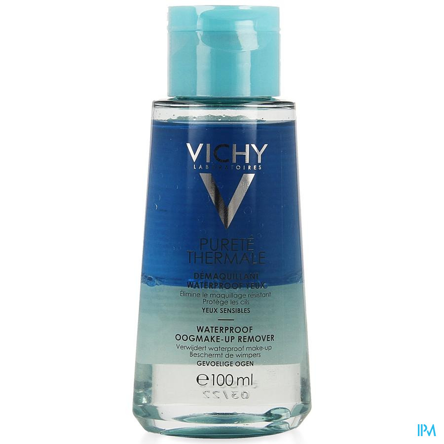 Vichy Pt Waterproof Oogmake Up Remover 100ml