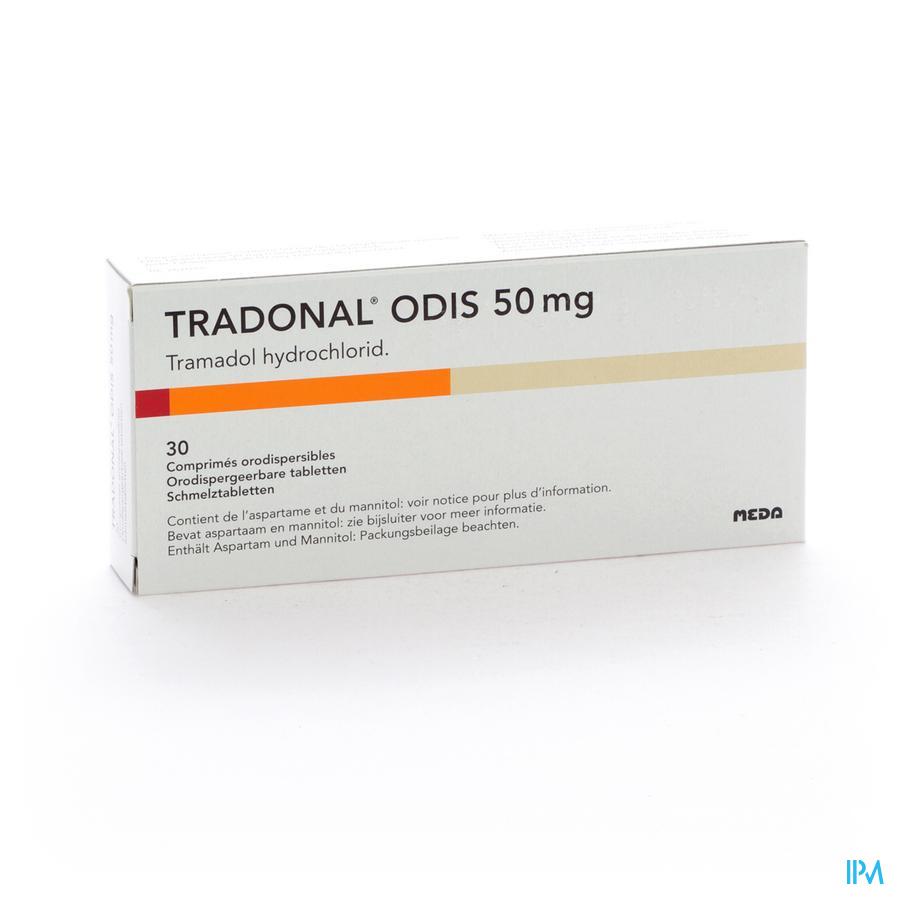 Tradonal Odis Orodisp Tabl 30 X 50mg