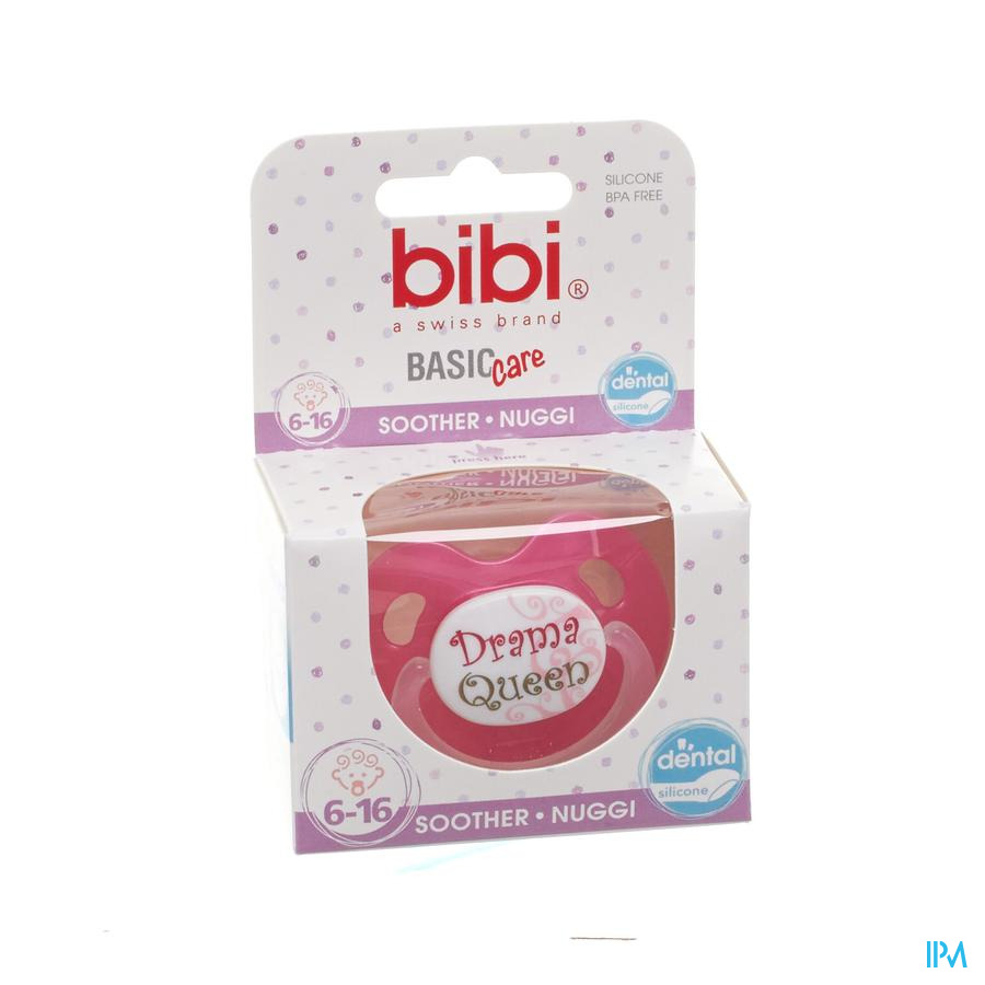 Bibi Fopspeen Dental Bad Boy Queen Bc 6-16m