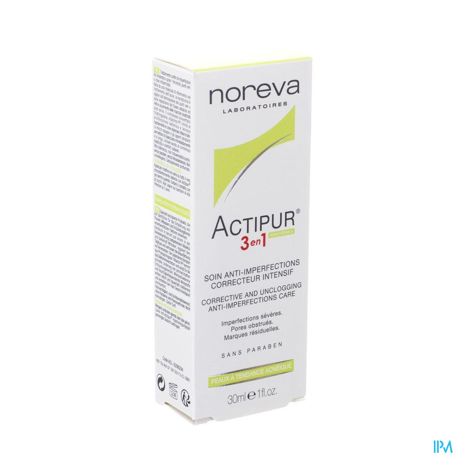 Actipur 3in1 Verz. A/onzuiv. Correct. Intens 30ml
