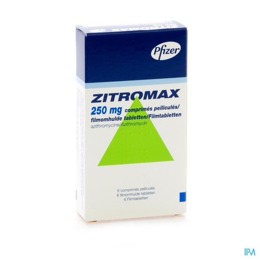 Zitromax Comp 6 X 250mg