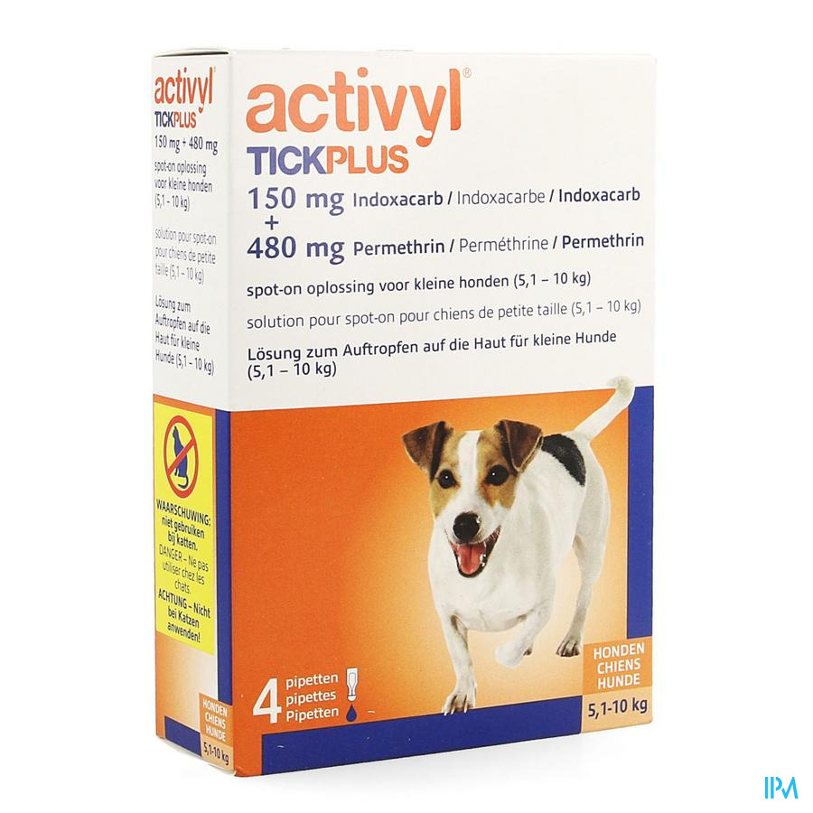 Activyl Tick Plus Opl. Spot-on 4x1ml