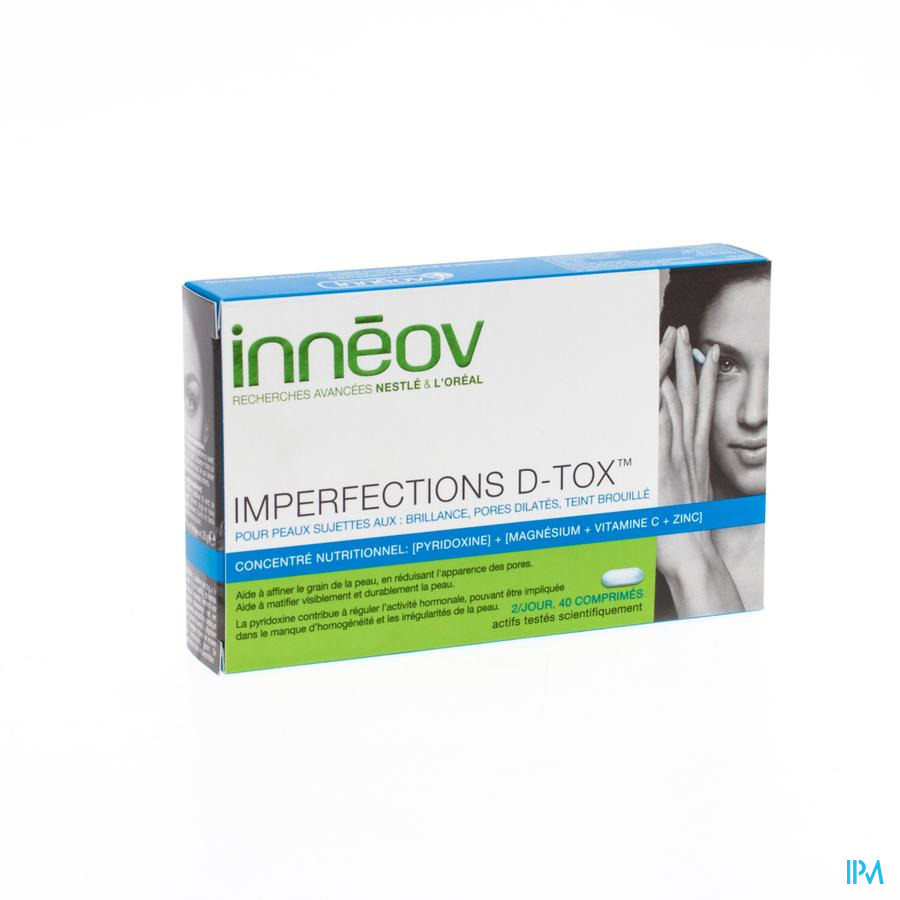 INNEOV IMPERFECTIONS D-TOX  COMP 40