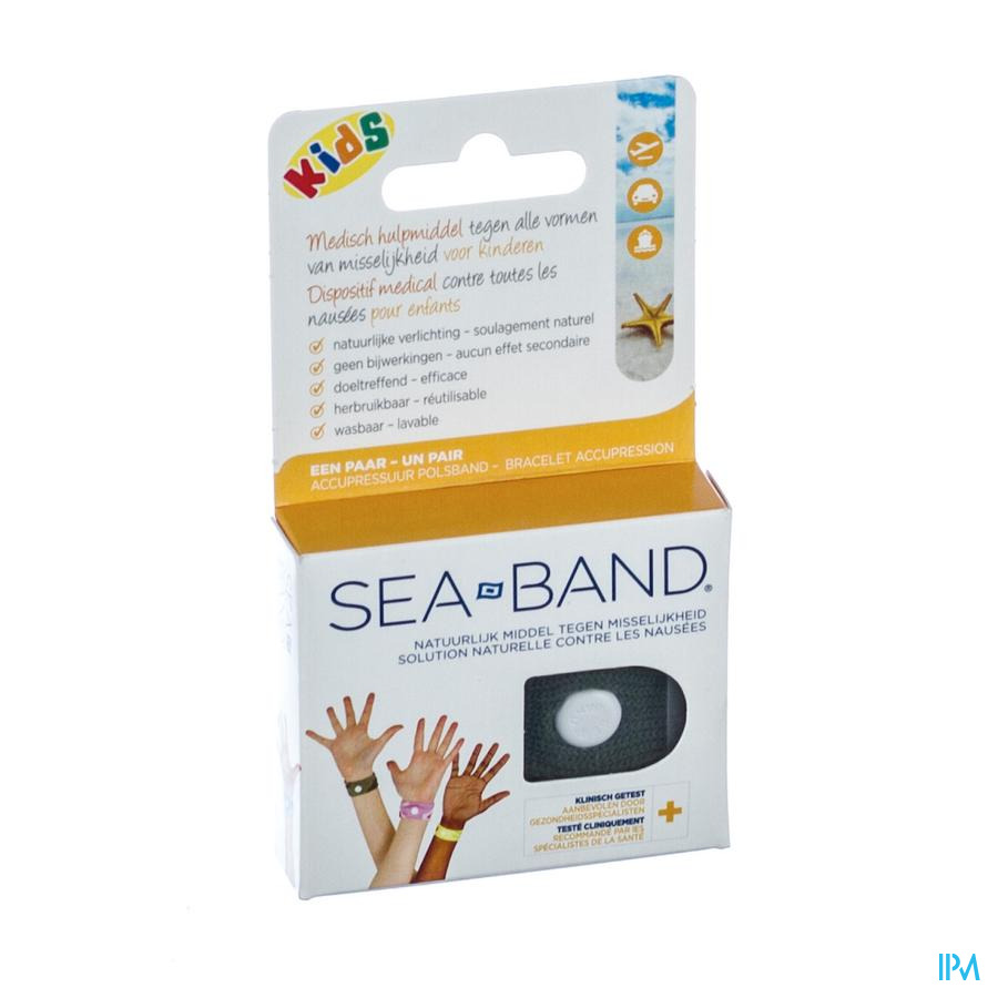 Sea Band Polsbandjes Kind -6jaar 2