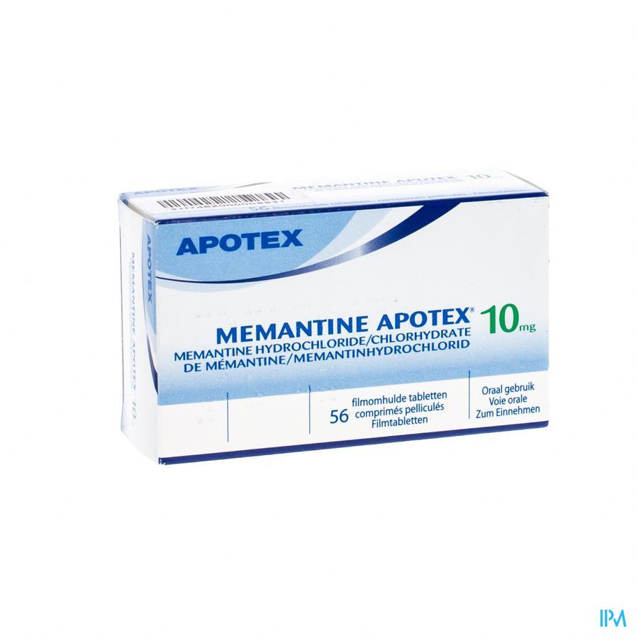Memantine 10mg Apotex Comp Pell 56